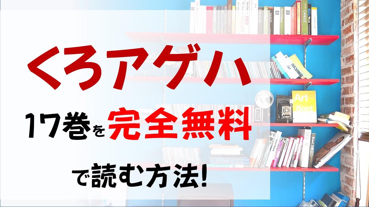 くろアゲハ17巻を無料で読む漫画バンクやraw・zipの代役はコレ!蘭子とエイラの対決の行方は!