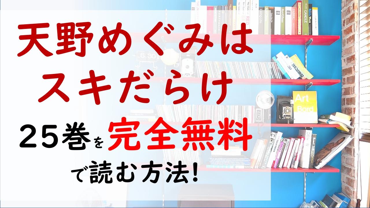 天野めぐみはスキだらけ25巻を無料で読む漫画バンクやraw・zipの代役はコレ!めぐみは決勝に挑む!!